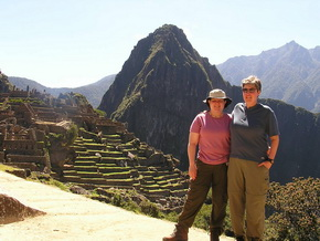 Machu Picchu by train for singles or couples. Overnight at Aguas Calientes