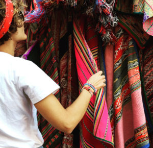 Pisac Market in the Sacred Valley of the Incas