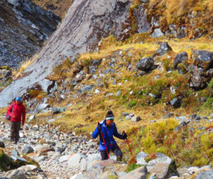Hike the Andes mountain in the Salkantay Trek