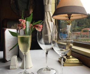 Enjoy elegance and luxury in the Hiram Bingham Train
