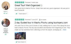 TOUR IN PERU in TripAdvisor: Opnions and reviews of our tourist services