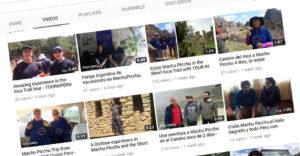 Inca Trail and Machu Picchu testimonials in TOUR IN PERU Youtube channel