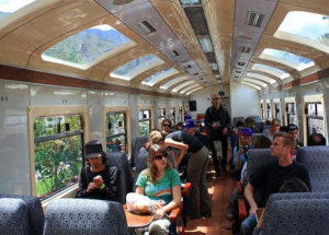 Visit Machu Picchu in the Vistadome Train in a One Day Tour