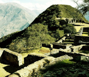 Ruins of Choquequirao in a trek tour 4 days 3 nights