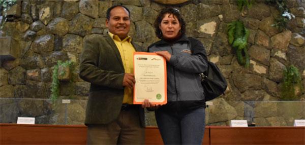 SERNANP Inca Trail Certification received by TOURinPERU managers
