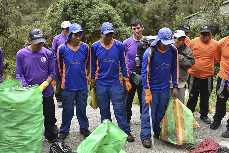 Inca Trail Maintenance - Ecology Protection is Part of Our..